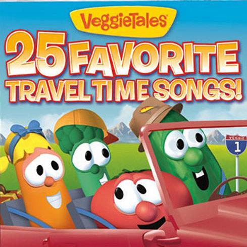 VeggieTales 25 Favorite Travel Songs!