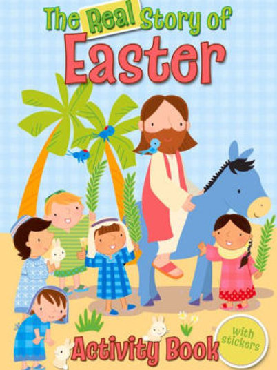 The Real Story of Easter Activity Book