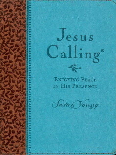Jesus Calling Enjoying Peace In His Presence Deluxe Edition by Sarah Young
