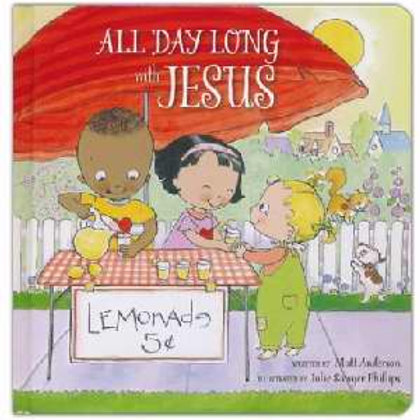 All Day Long With Jesus Board Book by Matt Anderson