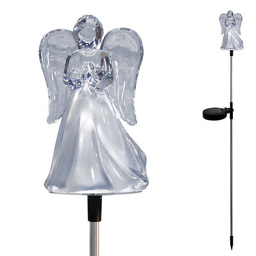 Solar Light Angel or Cross
