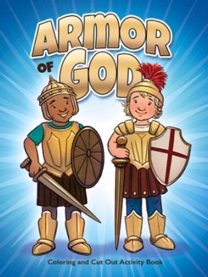 The Armor Of God Coloring/Activity Book