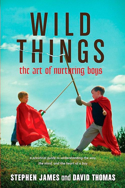 Wild Things The Art of Nurturing Boys by Stephen James and David Thomas