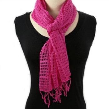 Scarf Java Super Soft Cotton, Pink