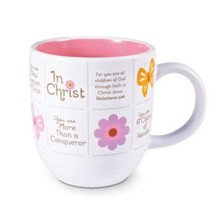 In Christ - Butterflies Mug