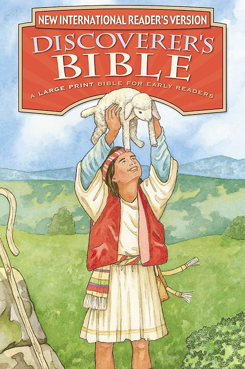 NIrV Discoverer's Bible Large Print for Early Readers