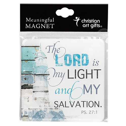 """""""The Lord Is My Light And My Salvation"""" Magnet"""