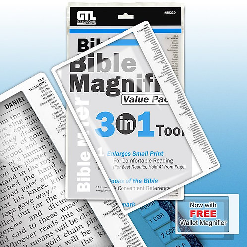 Bible Magnifier 3 in 1 Tool