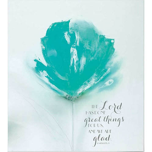 The Lord Has Done Great Things Psalm 126:3 Wall Plaque