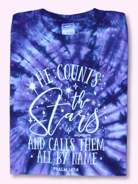 He Counts The Stars And Calls Them By Name T-Shirt