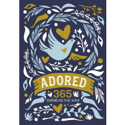Adored 365 Devotions For Young Women by Lindsay A. Franklin