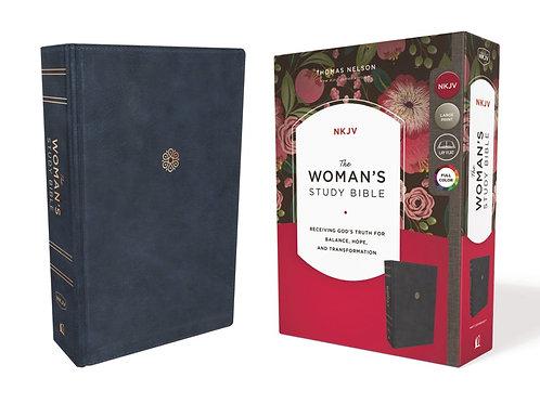 NKJV Woman's Study Bible Leathersoft