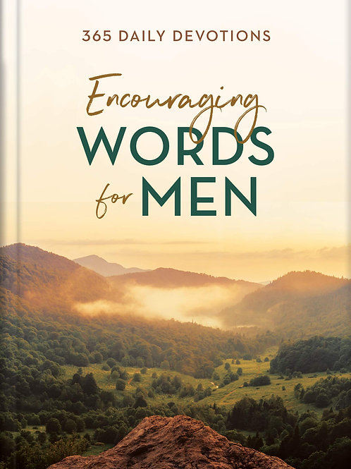 Encouraging Words For Men 365 Daily Devotions by Barbour