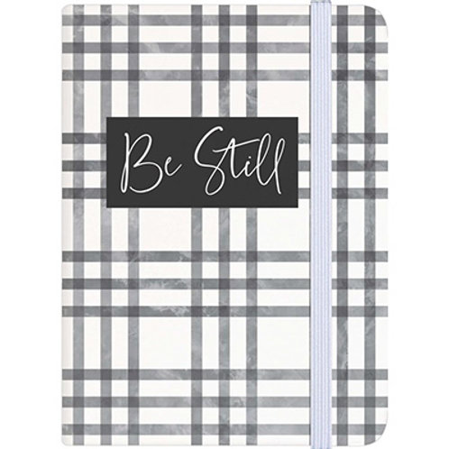Be Still Plaid Small Notebook