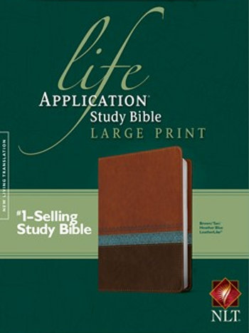 NLT Life Application Study Bible Large Print