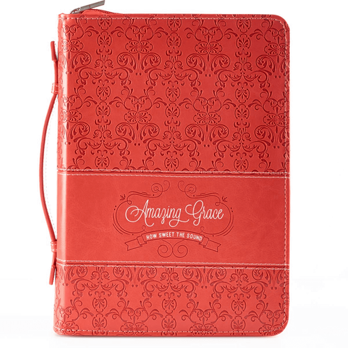 Large Bible Cover Amazing Grace