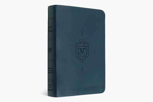 ESV Kid's Bible Thinline Blue with Lion