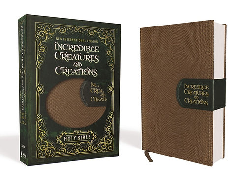 NIV Incredible Creatures and Creations Holy Bible