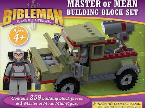 Bibleman Master Of Mean Building Block Set