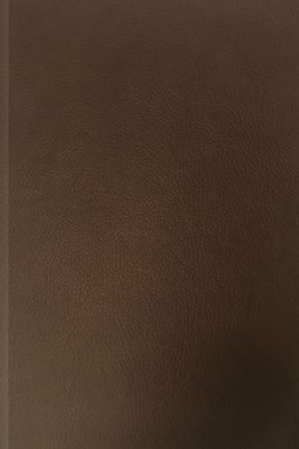 NLT LIfe Application Study Bible Deluxe LeatherLike Hardcover Espresso Brown