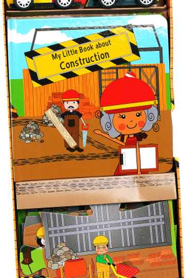 My Little Book About Construction-Construction Activity Book Set