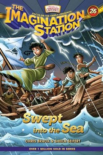 The Imagination Station Book 26 Swept Into The Sea by Chris Brack & Sheila Seifert
