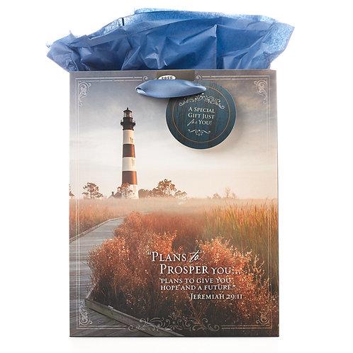 Lighthouse Medium Bag Jeremiah 29:11