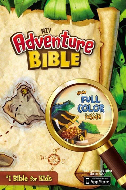 NIV Adventure Bible Hard Cover Full Color