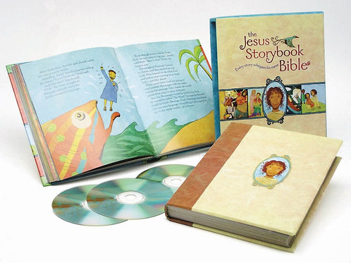 The Jesus Storybook Bible Deluxe Edition Includes Complete Book On Audio