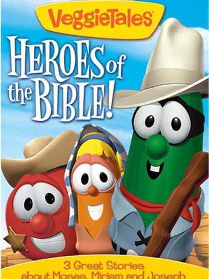 VeggieTales: Heroes Of The Bible Vol. 3 (Moses, Miriam, Joseph