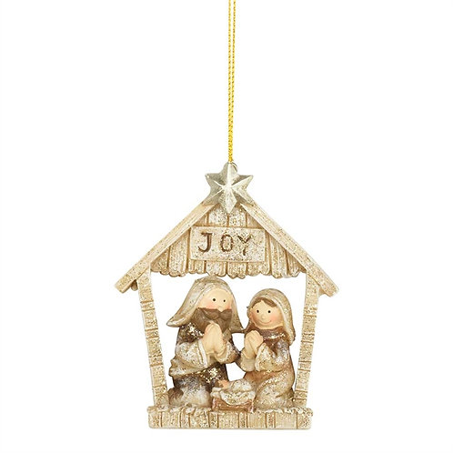 Holy Family Ornament