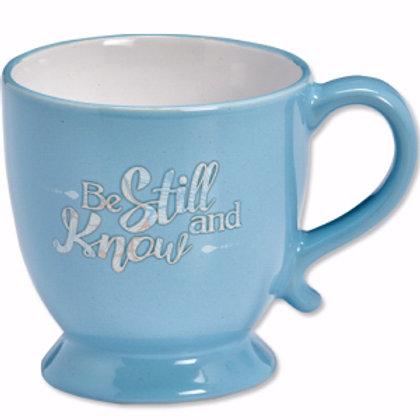 Be Still And Know Pedestal Mug