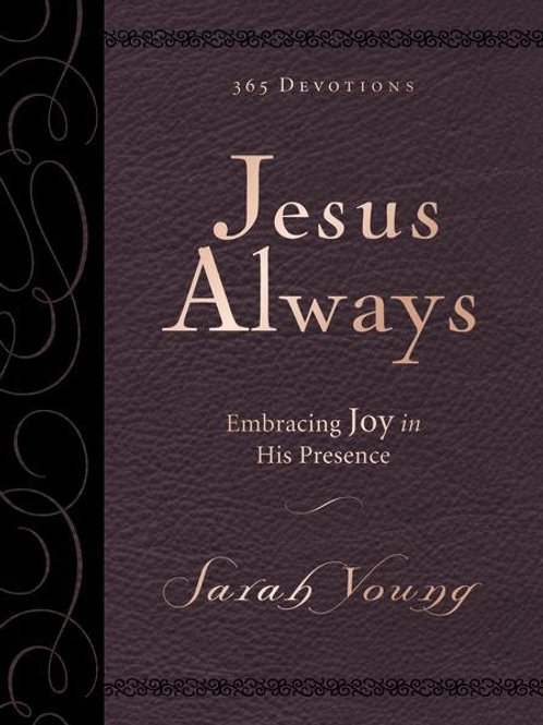 Jesus Always Small Deluxe by Sarah Young