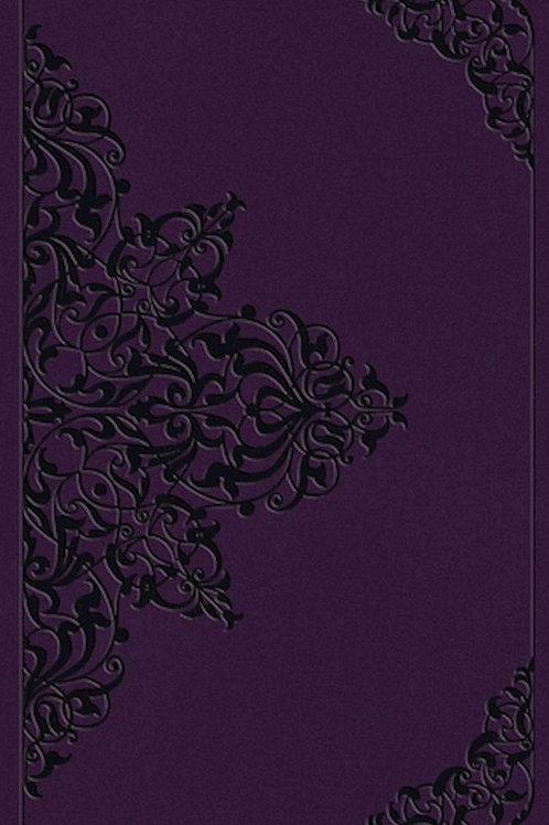 ESV Value Thinline Large Print Bible Purple
