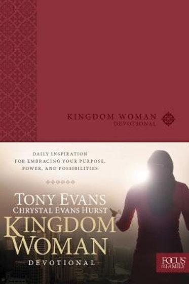Kingdom Woman Devotional by Chrystal Evans Hurst & Tony Evans