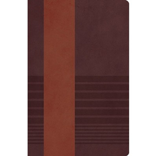 NKJV Study Bible Brown/Mahogany Leathersoft