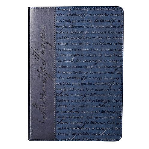 Serenity Prayer Journal Blue