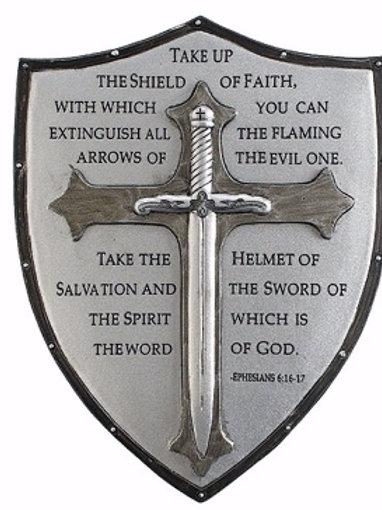 #armor of God; Wall plaque; Armor of God
