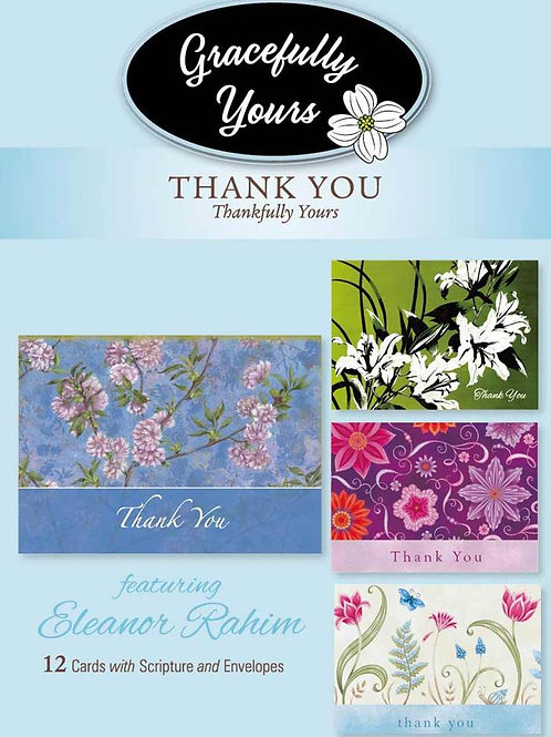 Gracefully Yours Thankfully Yours Thank You Cards