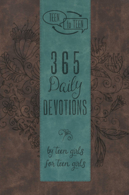 Teen To Teen: 365 Daily Devotions By Teen Girls For Teen Girls-Imitation Leather 365 Daily Devotions By Teen Girls For Teen G