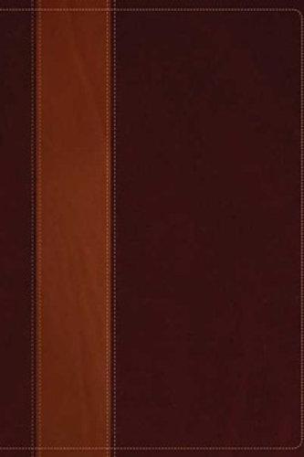 NIV Life Application Study Bible Brown and Tan