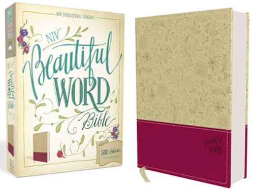 NIV Beautiful Word Bible 500 Full-Color Illustrated Verses