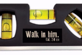 Level Walk With Him Col. 2:6 ESC