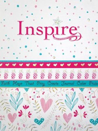 NLT Inspire For Girls Soft Cover