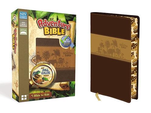 NIV Adventure Bible Brown Leathersoft