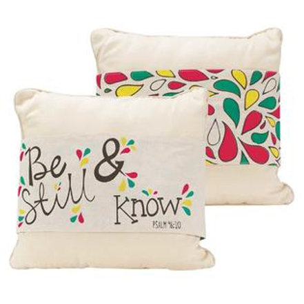 Be Still & Know Reversible Pillow Jacket