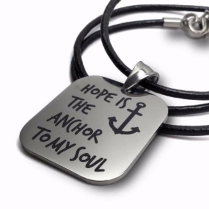 Hope Is The Anchor Necklace