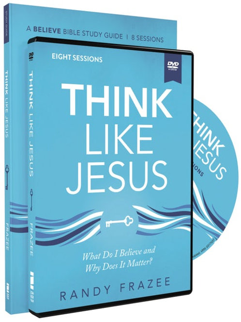 Think Like Jesus Study Guide With DVD by Randy Frazee