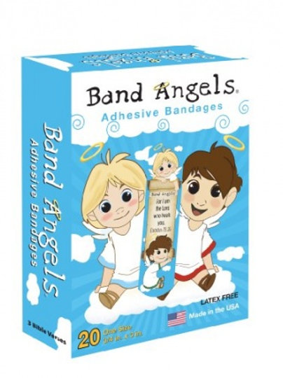 Band Angels Adhesive Bandages 20 Per Pack