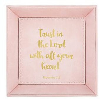 Trust In The Lord Tabletop Tray